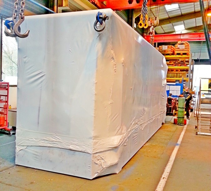 Houssage thermo rétractable: protection rapide stockage et transport