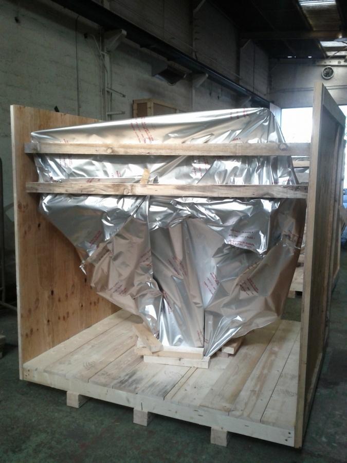 Emballage sur site de vannes de précision – Chambéry